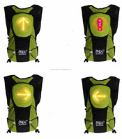 Indicate remotely controlled safety direction led light signal backpack YKBB050404