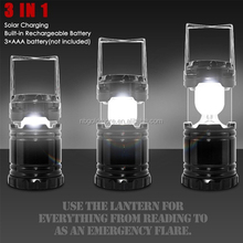 Goldmore1 Outdoor Portable Collapsible Ultra Bright Solar Rechargeable 6 SMD LED Lantern