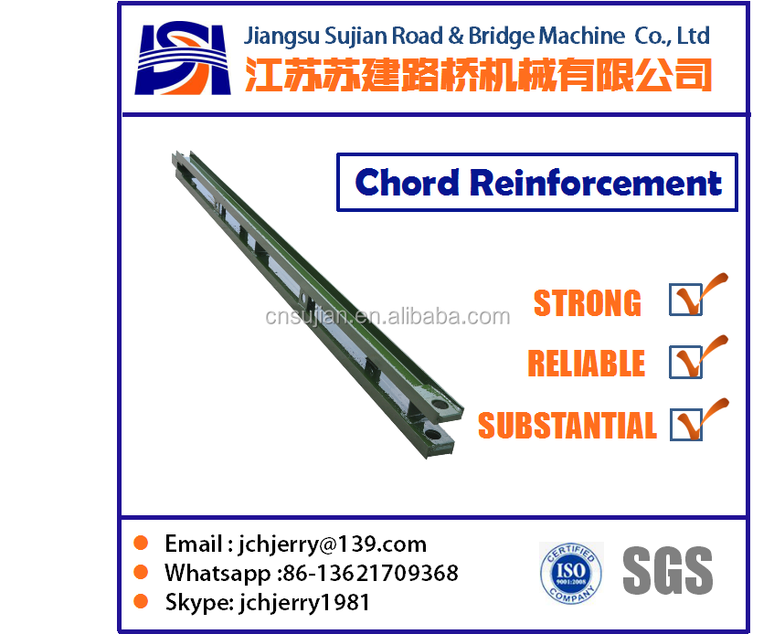 Chord Reinforcement for bailey bridge