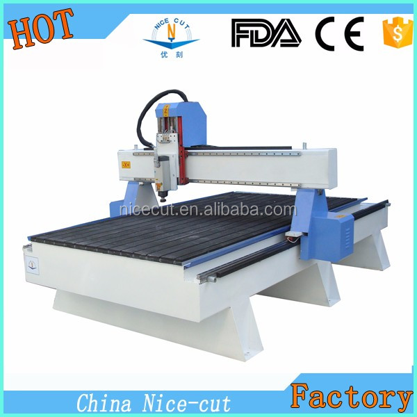 NC-R1325 5 axis cnc wood carving / engraving machine with vacuum table