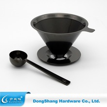2017 Hot sale stainless steel pour over coffee dripper