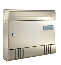 US 1.0mm oxidation Aluminum mailbox waterproof and wall mounted letterbox