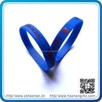 Printed Technique and Cross Theme Silicone Wristband for alibaba customer from zhongshan city