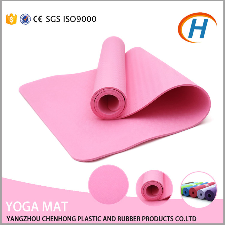 Wholesale Yoga Sports Equipments <strong>Eco</strong> One Layer Folding Yoga Mat