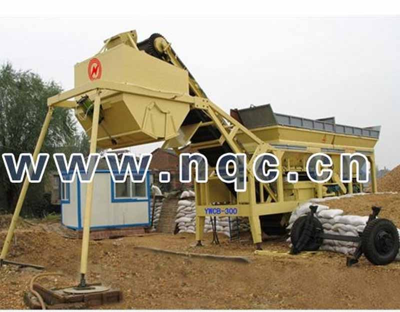 YWCB300 Mobile Stabilized Soil Batching Plant