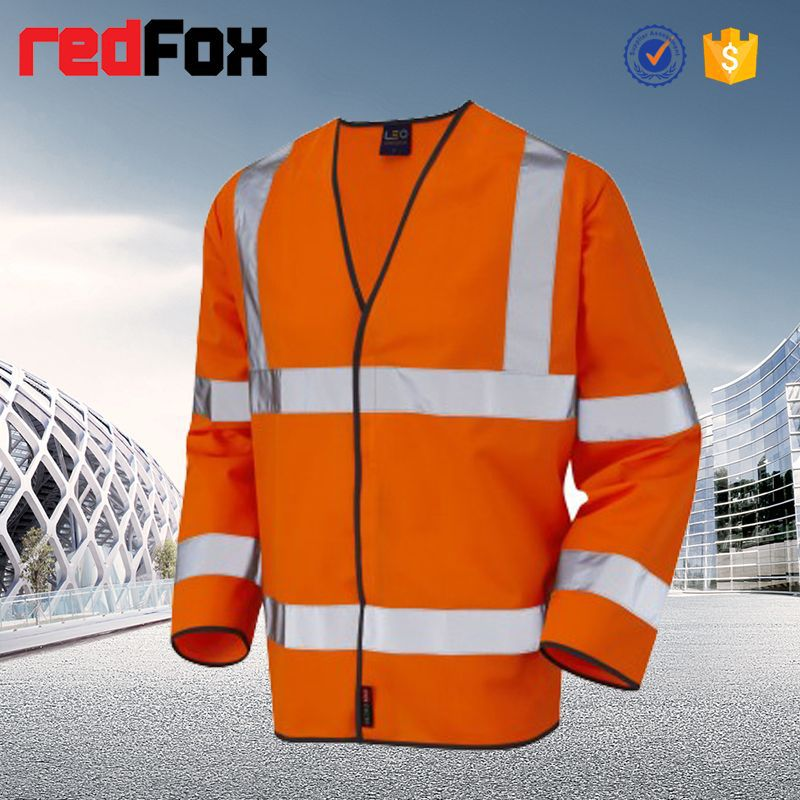 wholesale waterproof high visibility safety office polo jacket uniform