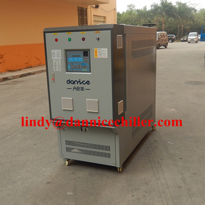 200C 6KW oil type heating mold temperature controller for plastic bottle production line