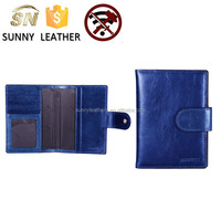 Genuine USA Leather Passport Cover, Holder and Case for International Travel