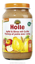 Holle baby food apple & pear quince, 190g