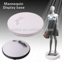 dia 60cm,H6cm white/black dynamic revolving wallet mosaic pen display base turntablefor store product display