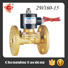 CE certificate brass natural gas solenoid valve
