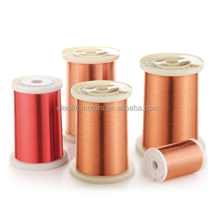 OEM 0.25 0.3 0.5 0.7 1 1.5 MM Magnet Enameled Copper Wire For Electric Fan Motor Stator Rotor Winding Rewinding Price Per Meter