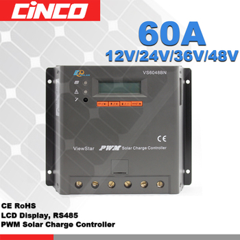 48V 60A PWM solar charger controller used for solar power system
