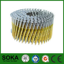 Chinese homemade Low price hot sales nails in coils for gun