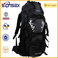 solid color outdoor products fashion backpack for high school students