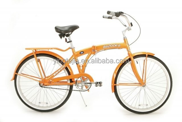 26 inch beach cruiser bike and folding bike
