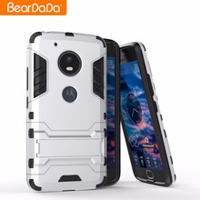 2017 Trending products kickstand mobile phone for moto g5 case