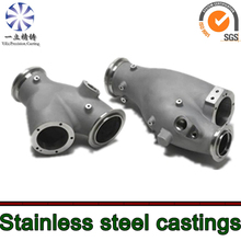 customer duplex stainless steel investment casting