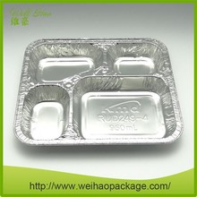 Different Shapes Disposable Aluminium Foil Container/Lunch Box