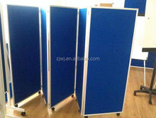 Commercial Room Divider with wheels