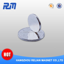 Strong pull force 10mm Axial multi pole magnetic magnet disc