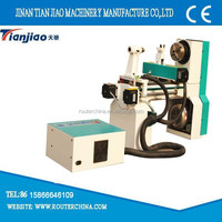mini cnc wood lathe for making beads/making wood beads machine/wooden beads making machine