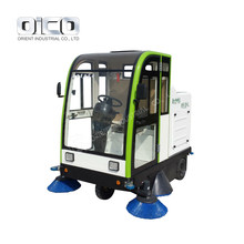 E800LC Floor Sweeper , Road Sweeping Machine Industrial Floor Sweeper Brush Cleaning Floor Sweeper