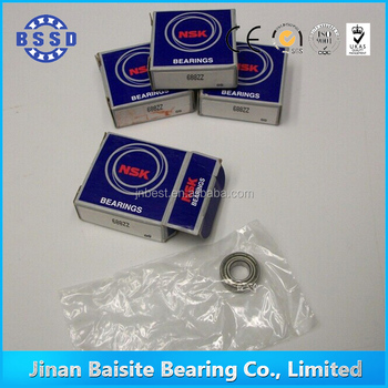 nsk 6mm x15mm x5mm 696zz deep groove ball bearing for ceiling fan