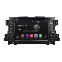 touch screen car radio with reversing camera and gps navigation for mazda cx-5
