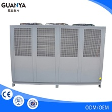 GY-100As Industrial air cooled 100hp water chiller for environmental timber processing