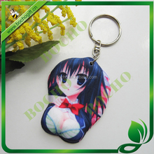 sexy girl key chain