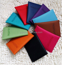 Faux Leather Travel Passport Holder Cover Passport Wallet Protective Storage Bag