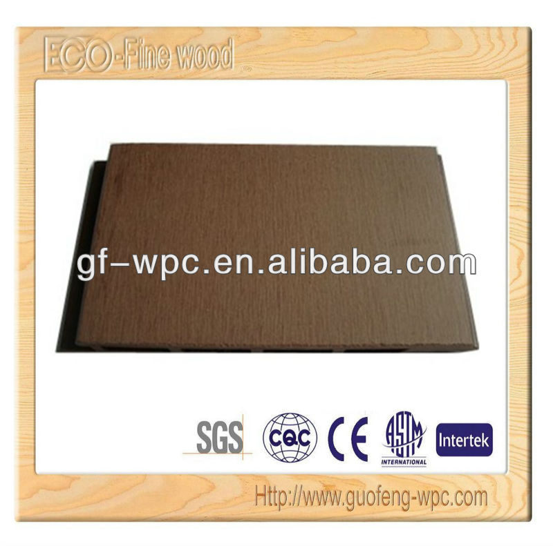 Wood plastic composite wpc wall cladding