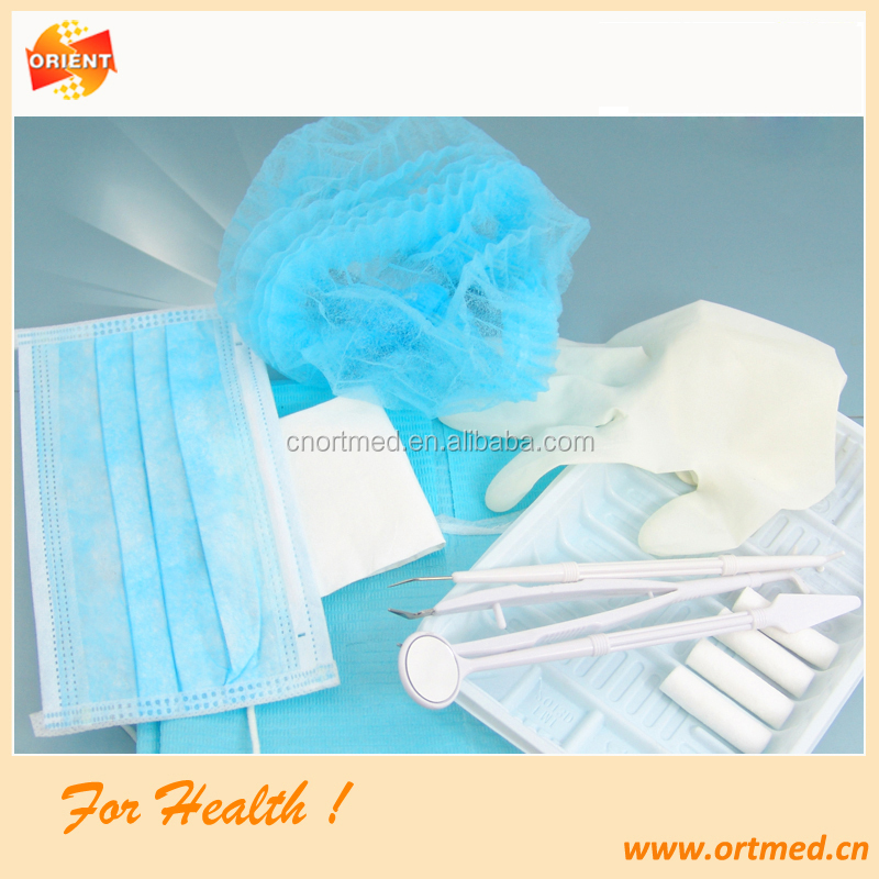 Disposable Sterile Dental Instrument Kit for Odontology
