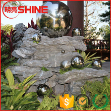 Customized Large Hollow Stainless Steel Garden Decorative Ball Ornament