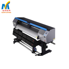 700W Wide Format CE 1.7 Meters Outdoor ECO Solvent Printer For Flex Banner