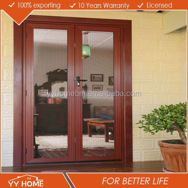 YY home decorative front double door hinged door french door
