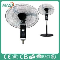 Popular 18 Inches Black Stand Fan With 1 Hour Timer In Mast