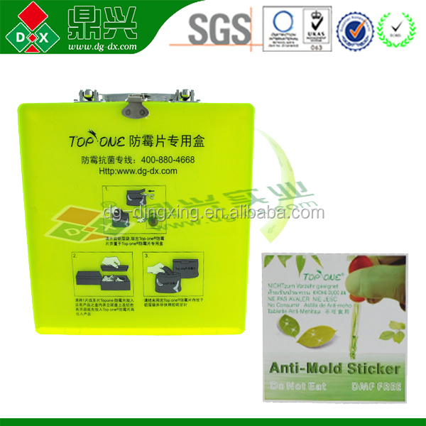 Hot sale low price anti-mold chip for shoes/garments/bags mold remover