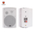Quality coaxail 100v 8ohm 40w PA Switch Wall Mount Indoor Speaker