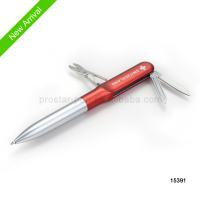 2014 tools pen ,new item Multi-function different knife ,scissor ball pen
