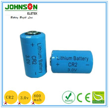 3.7V Rechargeable Lithium CR2 Battery with 600mAh