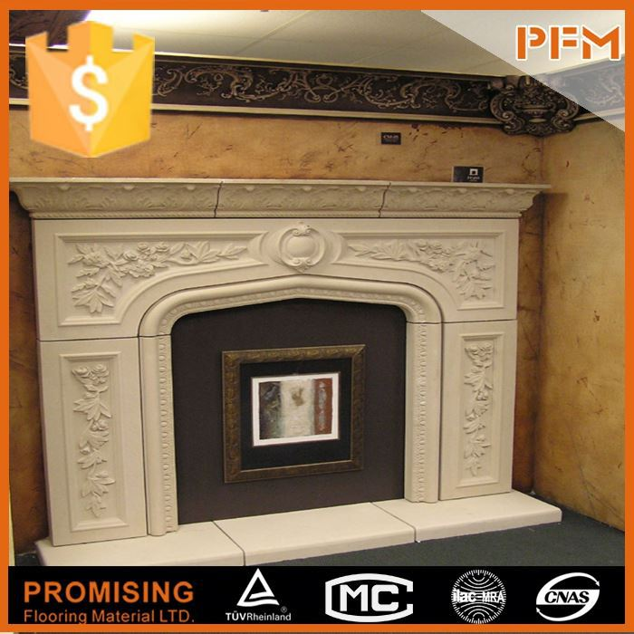 latest natural best price beautiful hand carved stone fireplace surround fire place mantel gas fire and surround