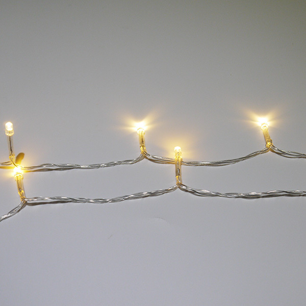 10M 100LED warm white waterproof solar panel led string lights led christmas light