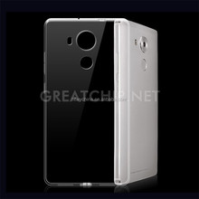 Soft Back Cover Mobile Rubber Gel TPU Case for Huawei Mate 8 OEM