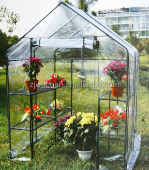2016 best-selling garden agricultural greenhouse with PVC cover