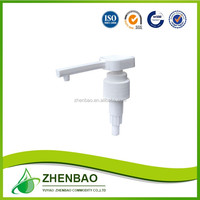 2016 high quality foaming soap hand pump dispenser tops with snap caps