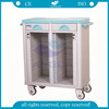 AG-CHT003 With double rows abs nursing instrument hospital patient medical records trolley
