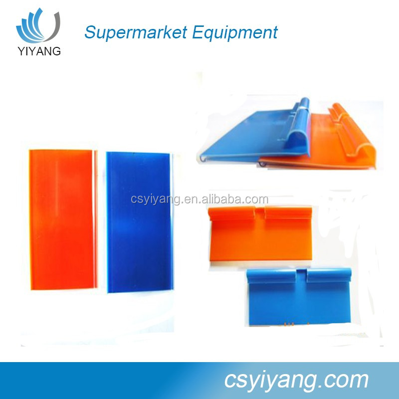 price tag holders for supermarket shelf rack stand