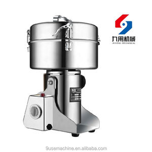 Fully automatic and high capacity grinding machine for spices
